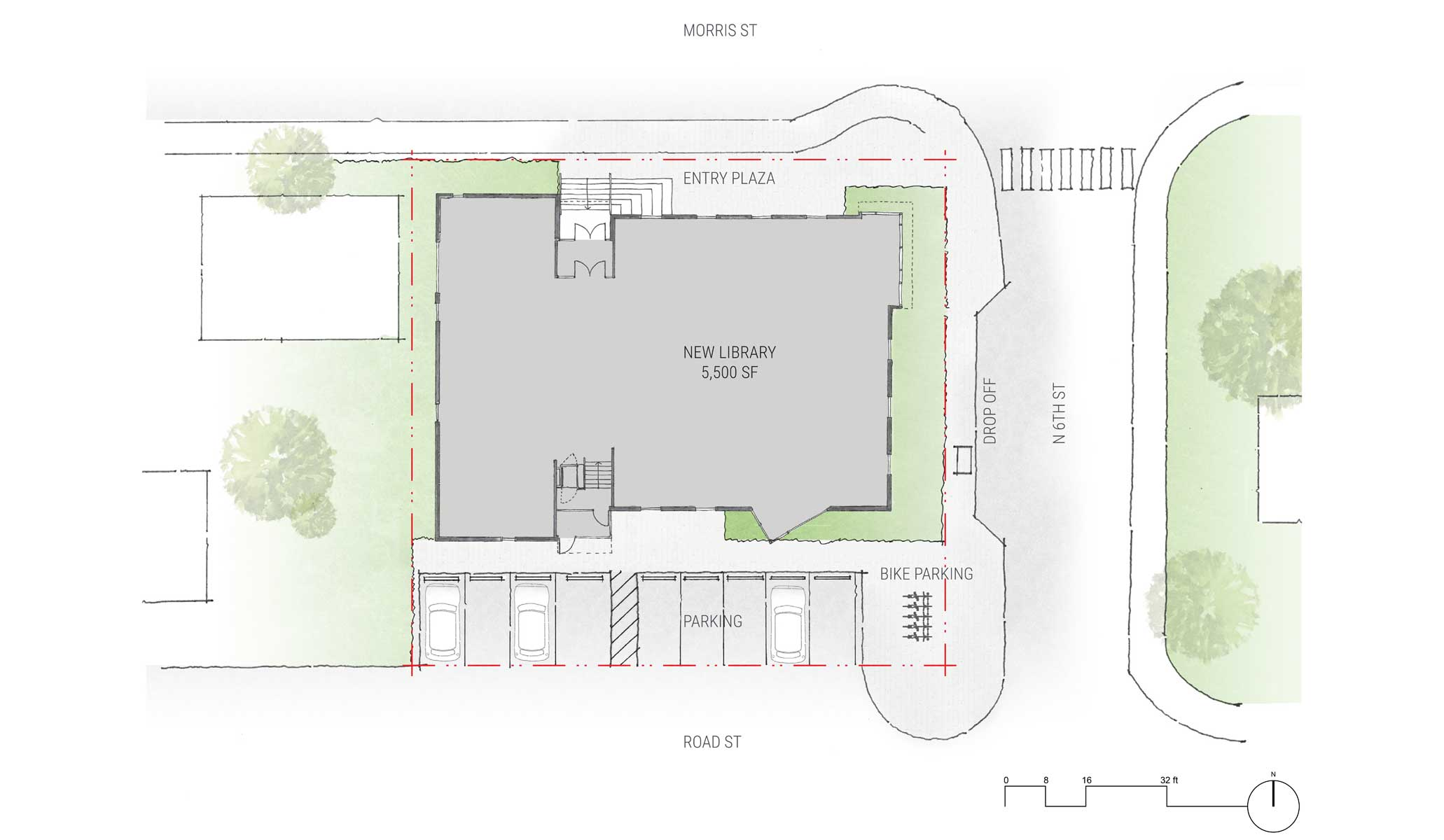 2 siteplanrendered BuildingWork – Rendered Site Plan
